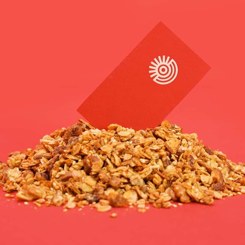 Golden State Granola Business Card